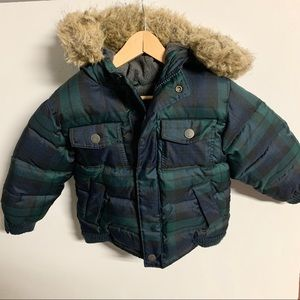 Gap puffer jacket size 3